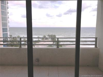 Hollywood Condo/Townhouse For Sale: 3505 S Ocean Dr #806