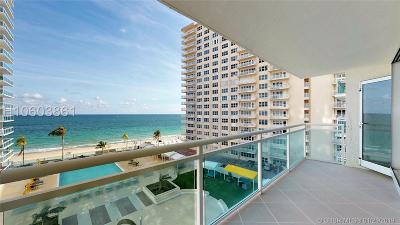 Fort Lauderdale Condo/Townhouse For Sale: 3900 Galt Ocean Dr #506
