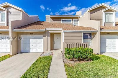 Sunrise Condo/Townhouse Active Under Contract