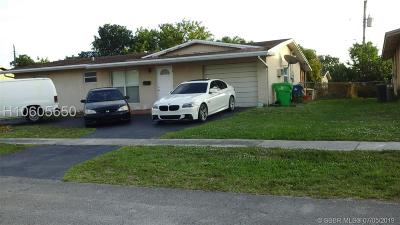 Sunrise Single Family Home For Sale: 6360 NW 25th Ct