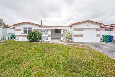Miramar Single Family Home For Sale: 7828 Tropicana St