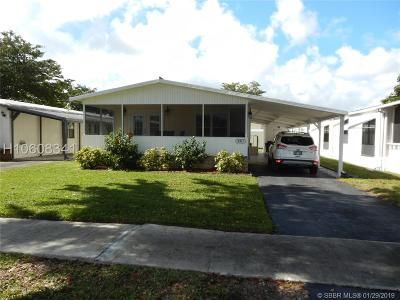 Dania Beach Single Family Home For Sale: 5311 SW 30th Ave