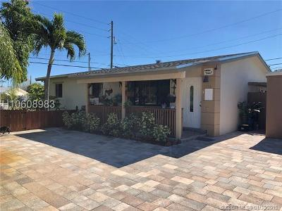 Fort Lauderdale Single Family Home Active Under Contract: 3756 SW 17th St