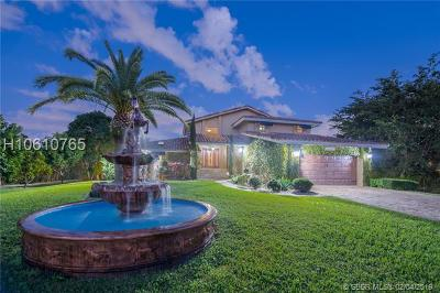 Miramar Single Family Home Active Under Contract: 3351 SW 137th Ave