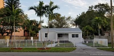 North Miami Single Family Home For Sale: 550 NE 127th St