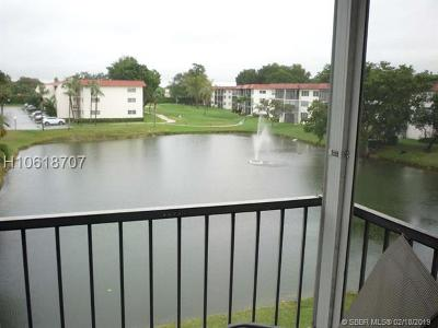 Pembroke Pines Condo/Townhouse For Sale: 800 S Hollybrook Dr #307