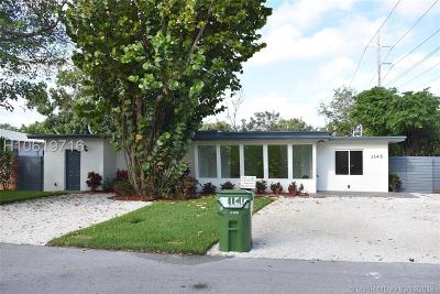 Fort Lauderdale FL Single Family Home Active Under Contract: $469,900