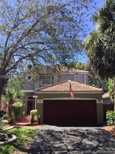 Plantation Single Family Home For Sale: 1041 NW 110th Ave