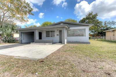Fort Lauderdale FL Single Family Home Active Under Contract: $209,000