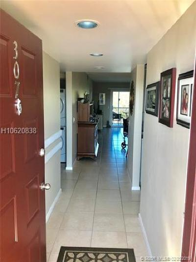 Pembroke Pines Condo/Townhouse For Sale: 300 SW 130th Ter #307B