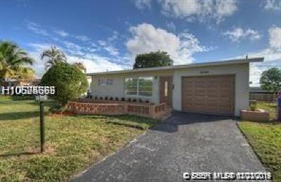 Sunrise Single Family Home For Sale: 8540 NW 25th Ct