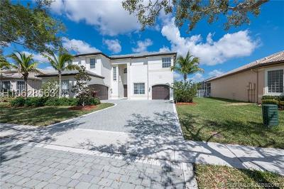 Miramar Single Family Home Active Under Contract: 19043 SW 55th St