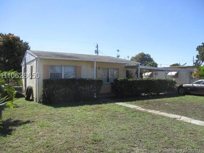 Miramar Single Family Home For Sale: 6500 SW 18th St