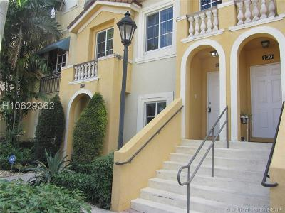Miramar Condo/Townhouse Active Under Contract: 12430 SW 50th St #127