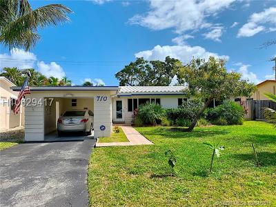 Dania Beach Single Family Home For Sale: 710 NW 8th Ave