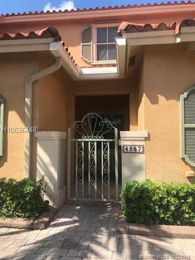 Dania Beach Condo/Townhouse For Sale: 4957 Leeward Ln #3104