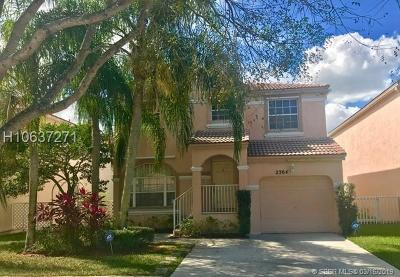 Pembroke Pines Single Family Home For Sale: 2364 NW 157th Ave