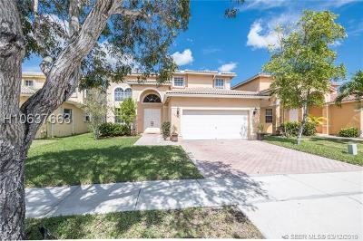 Miramar Single Family Home Active Under Contract: 13271 SW 53rd St