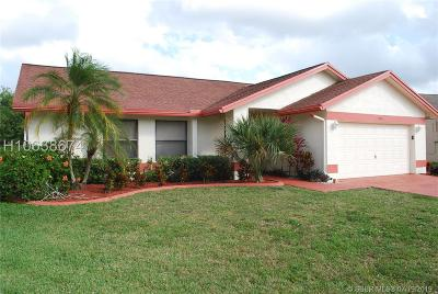 Tamarac Single Family Home For Sale: 7186 NW 80 Way