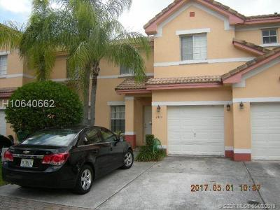 Miramar Condo/Townhouse Active Under Contract: 2323 S.w 85 Way #2323