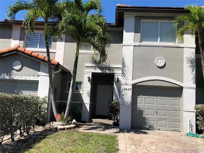 Miramar Condo/Townhouse For Sale: 12647 SW 29th St #12647