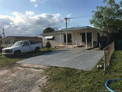 Miramar Single Family Home For Sale: 6405 SW 18th St