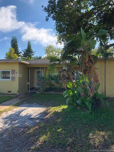 Dania Beach Single Family Home For Sale: 822 NW 6th Ave