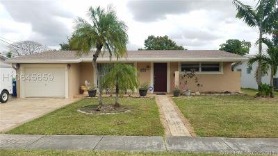Sunrise Single Family Home Active Under Contract: 2792 NW 73rd Ave
