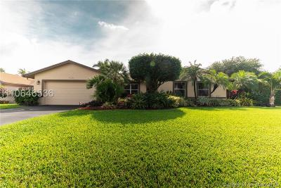 Cooper City Single Family Home Active Under Contract: 3901 Lymestone Dr