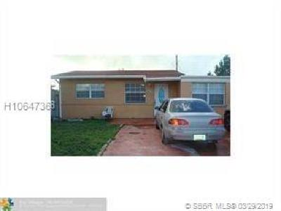 Miramar Single Family Home For Sale: 6236 SW 23rd St