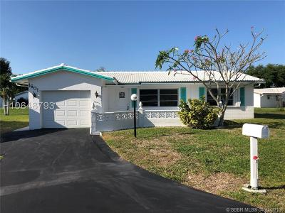 Plantation Single Family Home For Sale: 1601 NW 86th Ter
