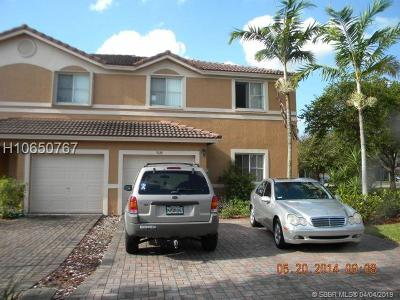 Sunrise Condo/Townhouse Active Under Contract: 9880 NW 20th Pl #9880