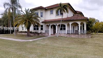 Davie Single Family Home For Sale: 3061 SW 117th Ave