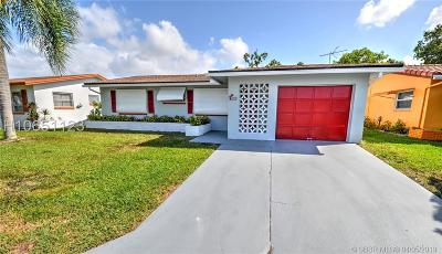 Tamarac Single Family Home For Sale: 4608 NW 48th St