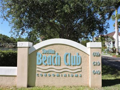 Dania Beach Condo/Townhouse For Sale: 649 E Sheridan St #103
