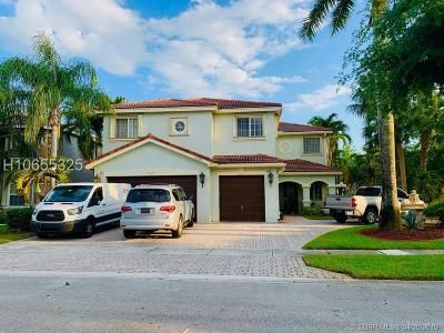 Pembroke Pines Single Family Home For Sale: 16380 SW 14th St