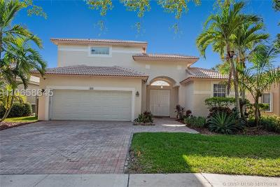 Pembroke Pines Single Family Home Active Under Contract: 1588 NW 171st Ave