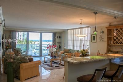 Hollywood Condo/Townhouse For Sale: 3800 S Ocean Dr #412A
