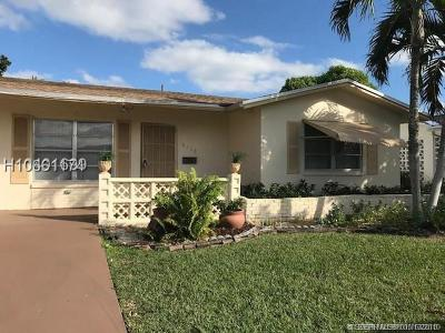 Tamarac Single Family Home For Sale: 5710 NW 68th Terr