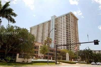 Hollywood Condo/Townhouse For Sale: 1201 S Ocean Dr #1609N