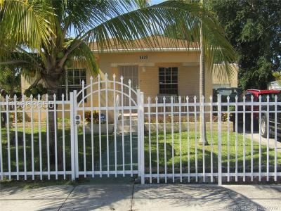 Hollywood Single Family Home Active Under Contract: 5539 Fletcher