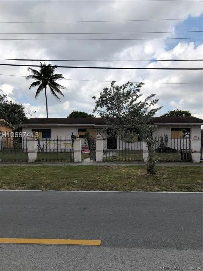 Miami Gardens Single Family Home For Sale: 17590 NW 52nd Ave