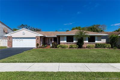 Davie Single Family Home For Sale: 1041 Monticello Ave