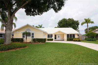 Davie Single Family Home For Sale: 6503 Abotts Mill Ave