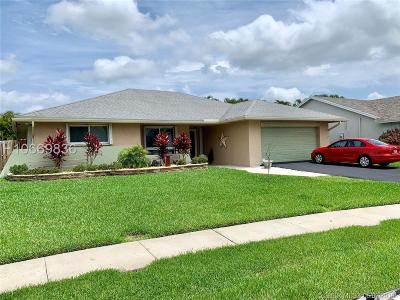 Sunrise Single Family Home For Sale: 3190 NW 94th Ter