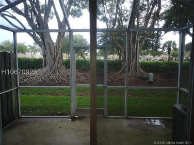 Weston Condo/Townhouse For Sale: 2010 Madeira Dr #2010
