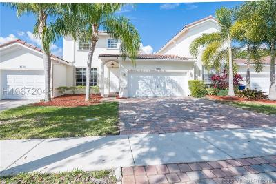 Miramar Condo/Townhouse Active Under Contract: 18736 SW 27th Ct