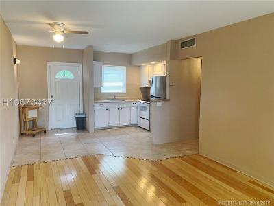 Hollywood Condo/Townhouse Active Under Contract: 1301 N 12th Ct #10A