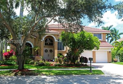 Pembroke Pines Single Family Home Active Under Contract: 17311 SW 12th St