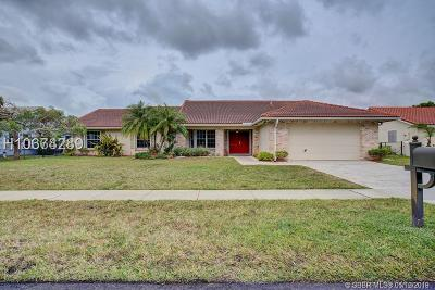 Pembroke Pines Single Family Home For Sale: 19931 NW 2nd St